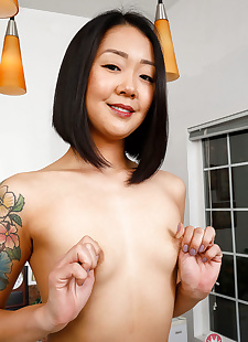 sex pics Saya song showing off her hairy pussy, Saya Song , hairy , lingerie  asian