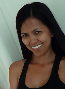 sex pics Fresh faced Filipina MILF Leanne bares, close up , amateur  All