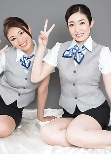 japanese sex pics Clothed Japanese flight attendants, skirt , legs
