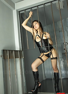 sex pics Caged hot Asian Chihiro Asai in, spreading , hairy