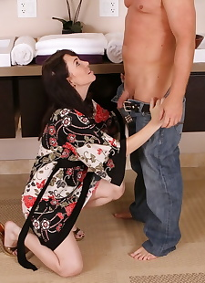 sex pics Big titted masseuse Rayveness soaps, close up , nipples