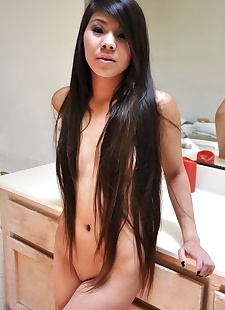 sex pics Young Asian girl with long hair that, close up , amateur