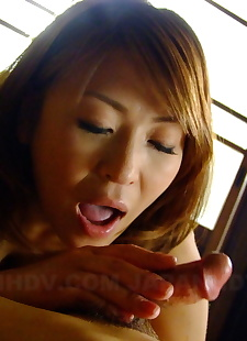 japanese sex pics Redheaded Japanese girl Jun Kusanagi, spreading , big tits