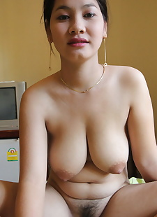 sex pics Asian first timer Nga uncups big, close up , nipples  hairy