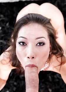 sex pics Asian cocksucker kalina ryu has an, Kalina Ryu , blowjob , facial